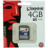 "Kingston SDHCCard 4GB SDcard 2.0von ""Kingston"""