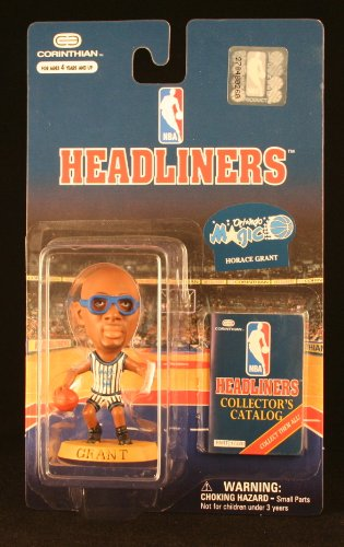 HORACE GRANT / ORLANDO MAGIC * 3 INCH * NBA Headliners Basketball Collector Figure