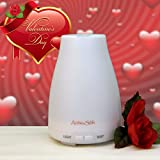 Aromatherapy Essential Oil Diffuser by AromaSoft - Powerful Easy To Use Ultrasonic Home Spa Oil Diffuser With Auto Shut Off Safety!