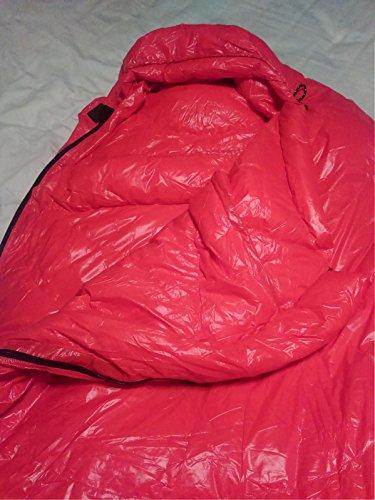 Ultralight Down Sleeping Bag: 3 Season 32 Degree Mummy ...