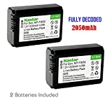 Kastar Battery (2-Pack) for Sony NP-FW50, BC-VW1, BC-TRW work with Sony Alpha 7, a7, Alpha 7R, a7R, Alpha a3000, Alpha a5000, Alpha a6000, NEX-3, NEX-3N, NEX-5, NEX-5N, NEX-5R, NEX-5T, NEX-6, NEX-7, NEX-C3, NEX-F3, SLT-A33, SLT-A35, SLT-A37, SLT-A55V, Cyber-shot DSC-RX10