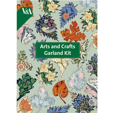 V&A Arts and Crafts Paper Garland Kit