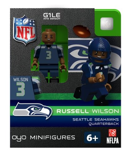 NFL Seattle Seahawks Russell Wilson Figurine at Amazon.com