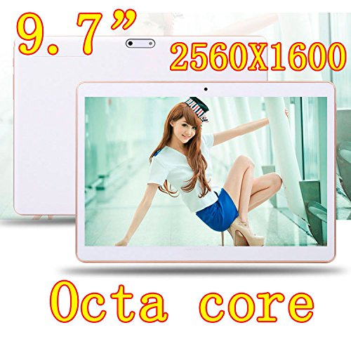 4G LTE Black 9.7 inch 8 core Tablet PC Octa Cores 2560X1600 IPS RAM 4GB ROM 32GB 8.0MP WIFI 4G Dual sim card Wcdma+GSM Tablets PCS Android5.1