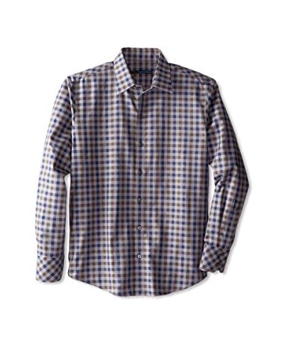 Zachary Prell Men's Marc Long Sleeve Check Shirt