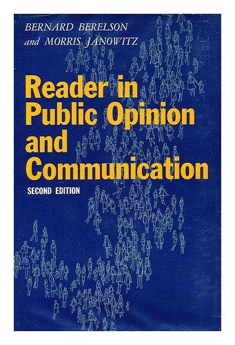 Reader in Public Opinion and Communication. PDF
