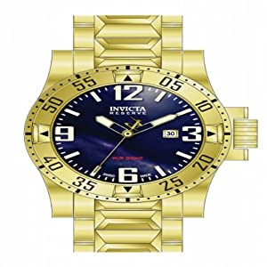 Invicta Men's 80600 Excursion Quartz 3 Hand Blue Dial Watch