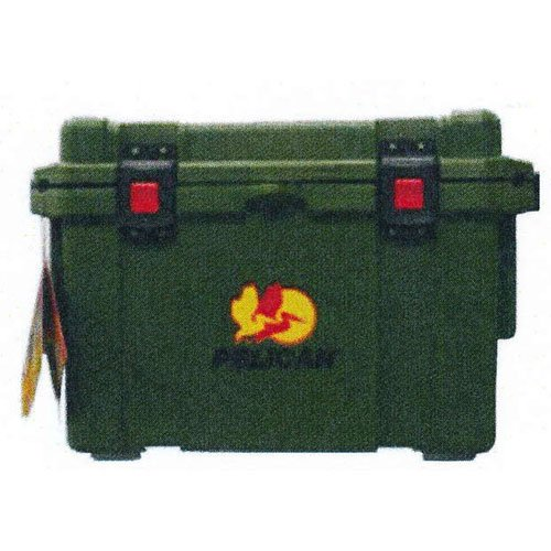 Pelican 65 Quart Elite Cooler Ice Chest - OD Green (Grizzly 60 Cooler compare prices)