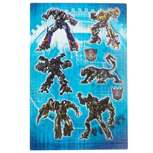 Transformers Party Supplies Favors Revenge of the Fallen Stickers 16ct