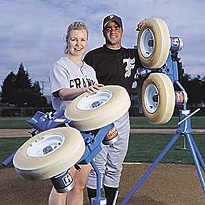 Amazon.com: Jugs Sports Combination Baseball/Softball Pitching ...