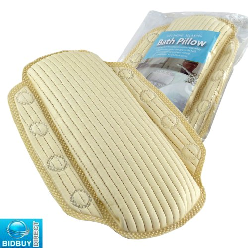 BRAND NEW - MEMORY FOAM BATH PILLOW - SOOTHING AND RELAXING BATH PILLOW - IDEAL FOR YOUR BATH