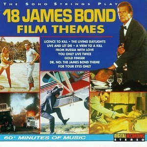 Original album cover of 18 James Bond Film Themes by Soho Strings (1995-11-28) by James Bond themes
