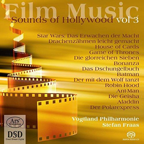SACD : BALLARD / BARRY / BEAL / BECK / BERNSTEIN - Film Music: Sounds Of Hollywood Vol 3