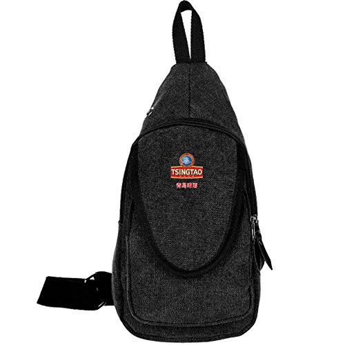 men-and-women-canvas-chest-bag-cool-chinese-tsingtao-beer-logo-sports-sling-bags-shoulder-crossbody-