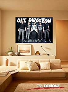 One Direction On Stage Group A1 A2 A3 Poster 1D Boyband Pop Music Teen from Tru Designz Accessories