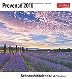 Provence 2016: Sehnsuchtskalender, 53 Postkarten