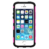 Trident Hot Pink/ Black Aegis Series Hard Cover Over Silicone Skin Case w/ Screen Protector for Apple iPhone 5/5S - AG-APL-IPH5S2US-PNK