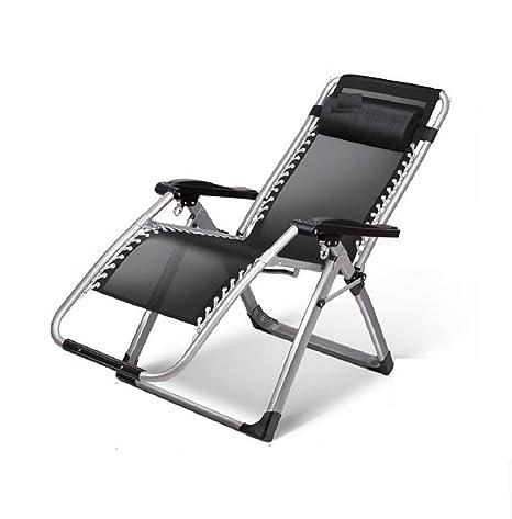 Pieghevole sedia persone pisolino sedia back-office pigro gratis e sedie a sdraio per il tempo libero senza ostacoli