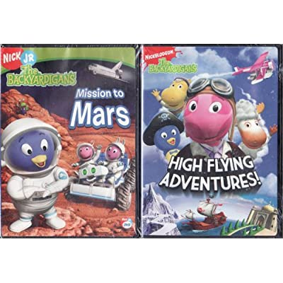 Nick Jr. LIMITED EDITION 2 DVD Set The Backyardigans Mission to Mars