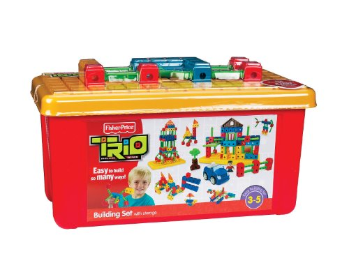 Fisher-Price TRIO Building Set with Storage