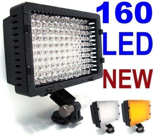 160 LED CN-160 Ultra High Power Digital Camera / Camcorder Video Light / LED Light