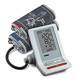 Braun Oberarm Blutdruckmessgerät BP 4600 ExactFit mit 2 Manschetten, hellgrau
