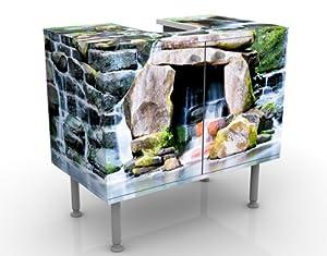 Design basin waterfall 60x55x35cm