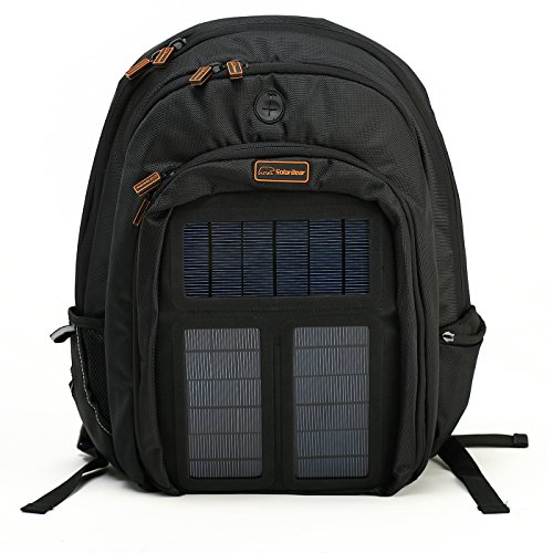 Solar Bear Solar Powered Laptop Backpack front-898140