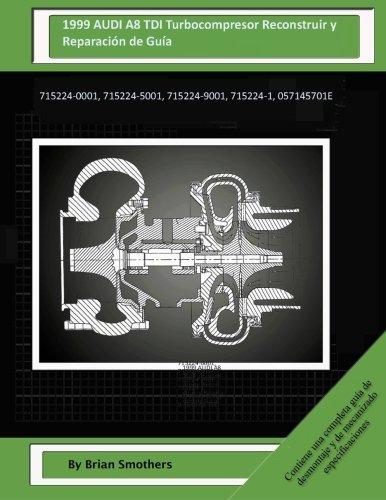 1999 AUDI A8 TDI Turbocompresor Reconstruir y Reparación de Guía: 715224-0001, 715224-5001, 715224-9001, 715224-1, 057145701E