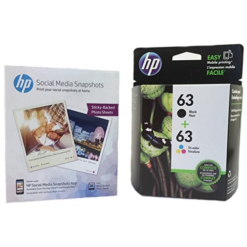 HP-63negro-Tri-color-Original-Ink-Cartridges-con-medios-de-comunicacin-Social-Snapshot-Papel-t0a90an