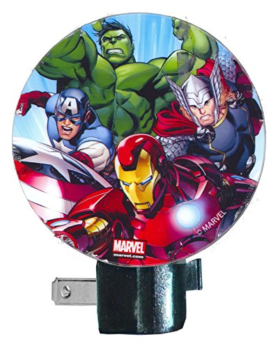 Marvel Avengers Night Light ~ Hulk, Captain America, Thor, Iron Man