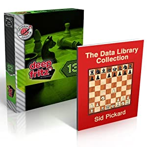 Deep Fritz 13 Chess Software Program & ChessCentral's Data Library Collection (2 item Bundle) in Stock and Shipping!