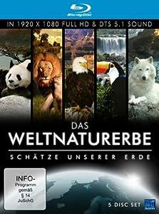 Das Weltnaturerbe - Schätze unserer Erde (5 Disc-Set) [Blu-ray]