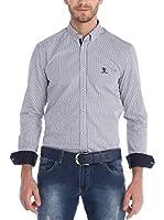 SIR RAYMOND TAILOR Camisa Hombre (Negro / Blanco)