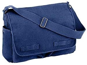 Rothco Hw Canvas Classic Messenger Bag - Blue