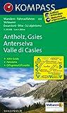 Antholz - Gsies - Anterselva - Valle di Casies: Wanderkarte mit Aktiv Guide, Panorama, Radwegen und alpinen Skirouten. GPS-genau. 1:25000
