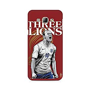 High Quality Printed Cover Case for Samsung A3 Model - The Three Lions