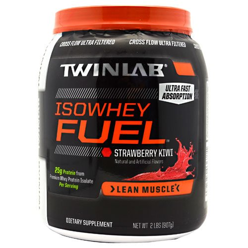 Twinlab Isowhey Fuel Strawberry Kiwi -- 2 Lbs ( Multi-Pack)