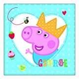 Peppa Pig Red Party Napkins