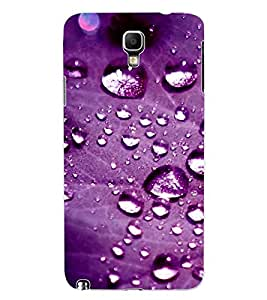 ColourCraft Water Drops Design Back Case Cover for SAMSUNG GALAXY NOTE 3 NEO DUOS N7502