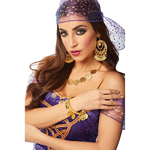Gypsy Jewelry Adult Costume Accessory Necklace