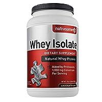 Nutrasumma Whey Protein Isolate-Chocolate- 2.04 lb