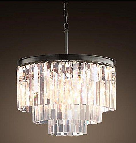 OOFAY LIGHT® Schlicht und elegant im europäischen Stil hochwertigen Kristall- Lampe Kronleuchter Restaurant der drei Kristallleuchter
