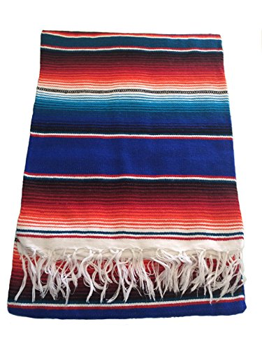 hand-woven-mexican-serape-saltillo-throw-blanket-x-large-60-x-84-blue