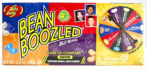 Jelly Belly Bean Boozled with Spinner Wheel Game 4th Edition, 3.5 Ounce (Jelly Boozled compare prices)
