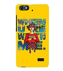 EPICCASE Wonderwoman love Mobile Back Case Cover For Huawei Honor 4C (Designer Case)