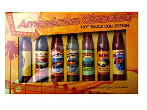 American Classics Hot Sauce Collection 7 Bottles Each 3 Fl Oz