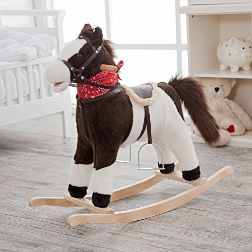 Charm-Company-Pinto-Horse-Rocker-Moving-Mouth-Tail-Ride-On