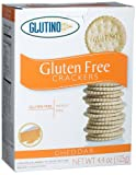 Glutino Gluten Free Cheddar Crackers, 4.4 Ounce Boxes (Pack of 6)