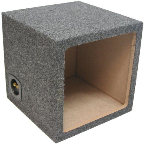 """Asc Single 10"""" Subwoofer Kicker Square L3 L5 L7 Sealed Sub Box Speaker Enclosure"""